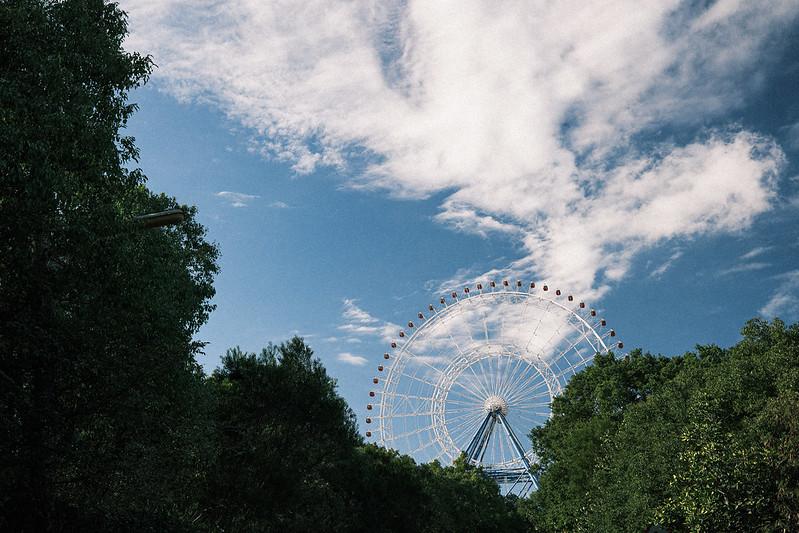 Ferris wheel 摩天輪|Fujifilm X100V