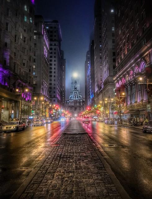 December in Philadelphia