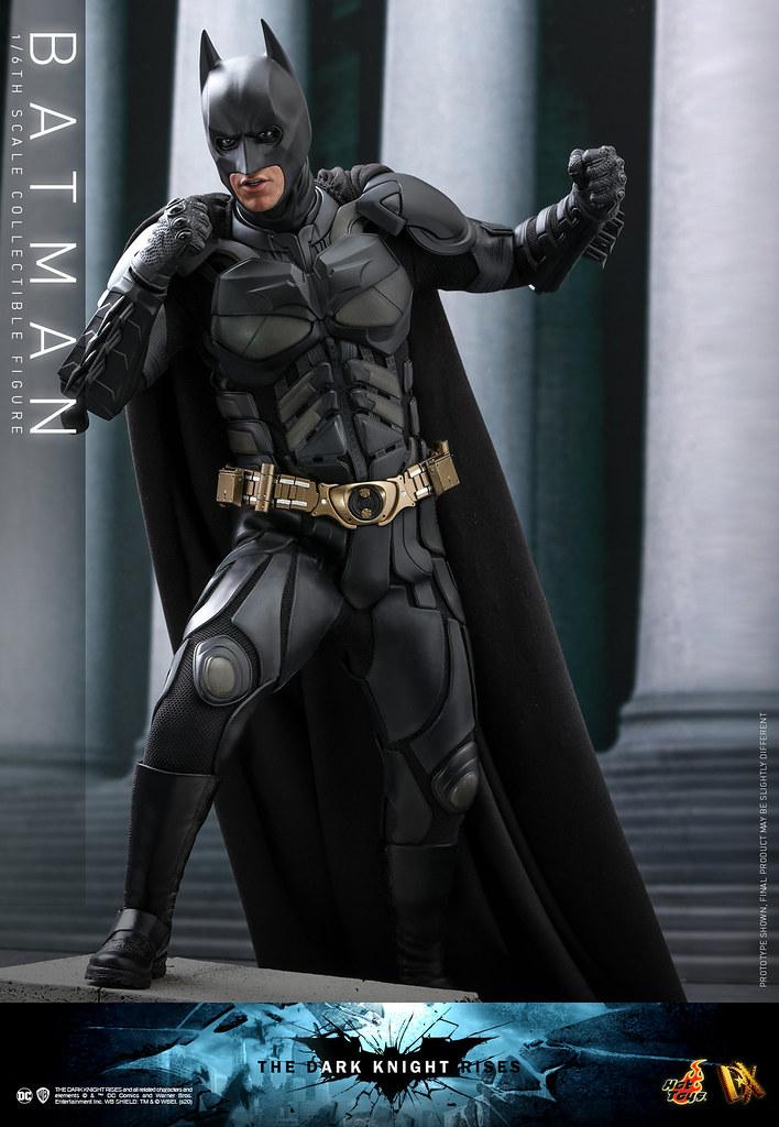 Hot Toys – DX19 -《黑暗騎士:黎明昇起》蝙蝠俠 1/6比例人偶 守護高譚的騎士英勇再來!