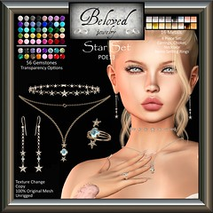 Beloved Jewelry : Star Jewelry Set (Free Gift For POE13 Hunt)