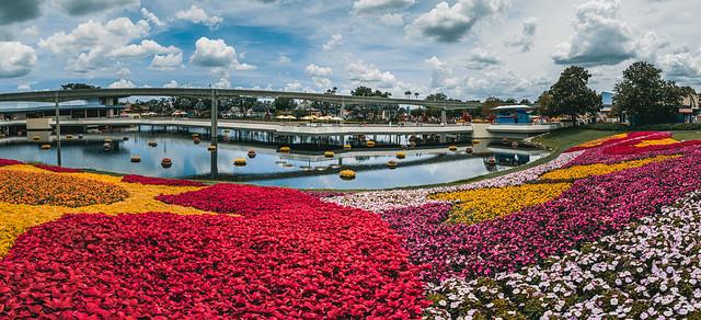 Epcot - Flower & Garden Festival Pano