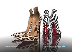 Irina Pointed Zipped Heels