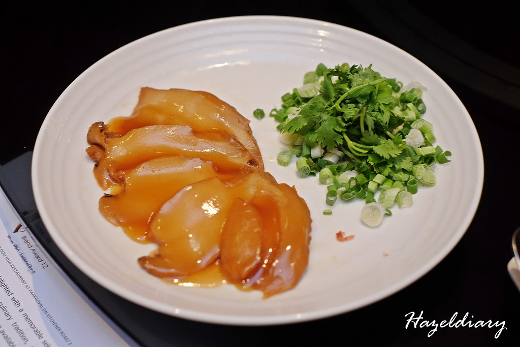 Si Chuan Dou Hua -PARKROYAL on Kitchener Road- Two-Head Abalone