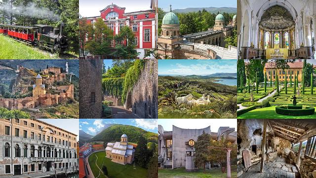 12 heritage sites shortlisted for the 7 Most Endangered programme 2021