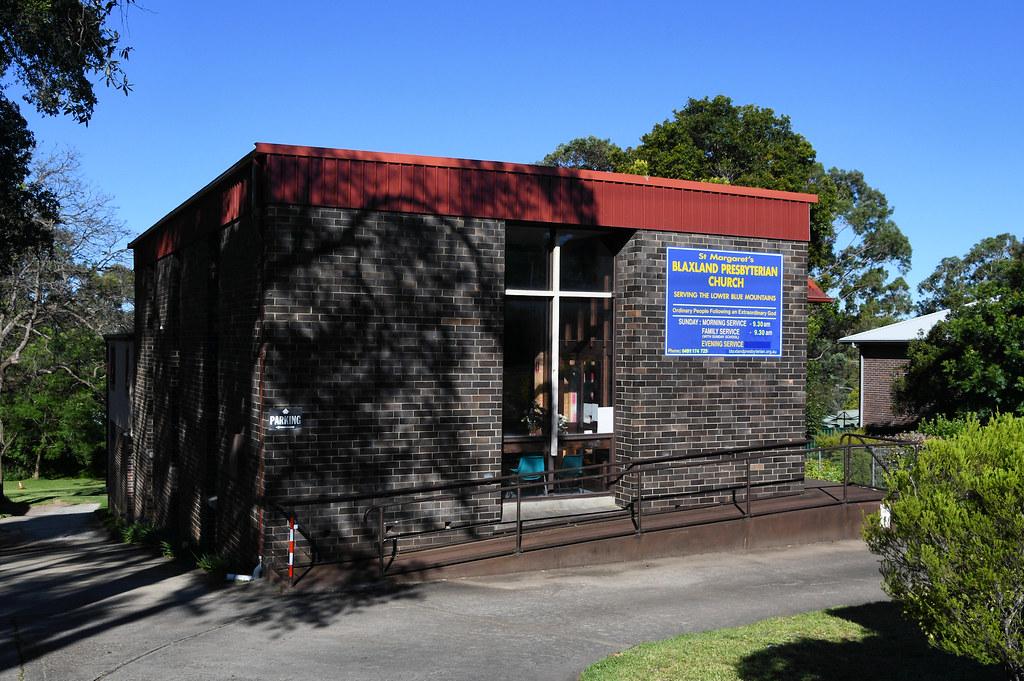 St Margaret's Presbyterian Church, Blaxland, NSW.