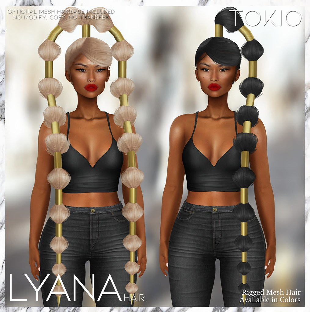 TOKIO Hair – LYANA – MIIX EVENT!!