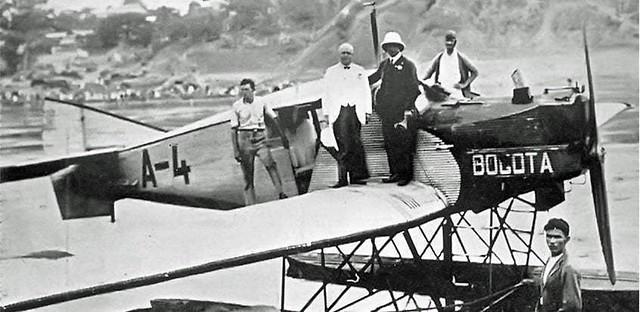 Colombo-Alemana de Transportes Aéreos SCADTA Junkers F 13 Hydravion A-4 Bogota