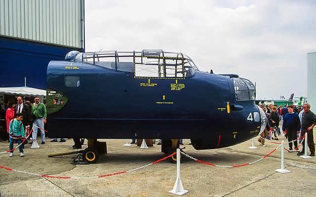 Avro Lancaster MR7 WU-21