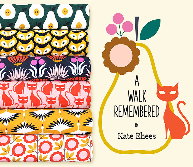 Cloud9 Fabrics A Walk Remembered Collection by Kate Rhees