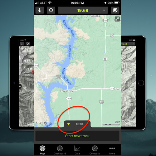 GPS KIT NAVIGATION APP STEP 2