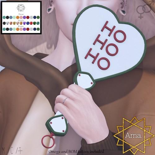 Ama. : Ho ho Ho Paddle and Marks