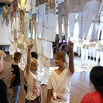 'Kathedra' under construction, school visit