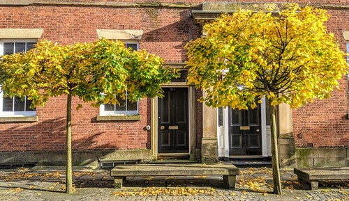 Autumn scene on Winckley Street, Preston | by Tony Worrall