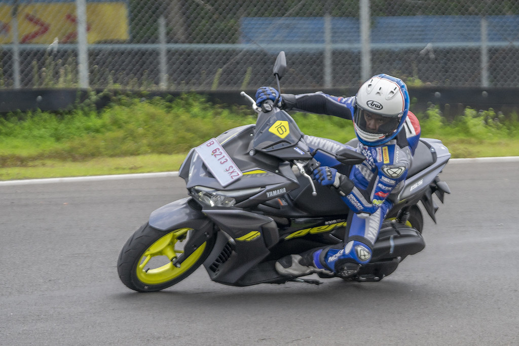 All New Aerox Connected 155 Sentul Test