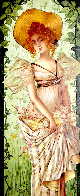 GOLAY, Mary.  Saison Nouvelle, 1898.