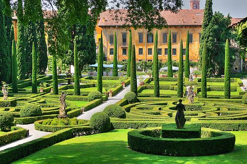 The Giusti Garden, Verona, ITALY