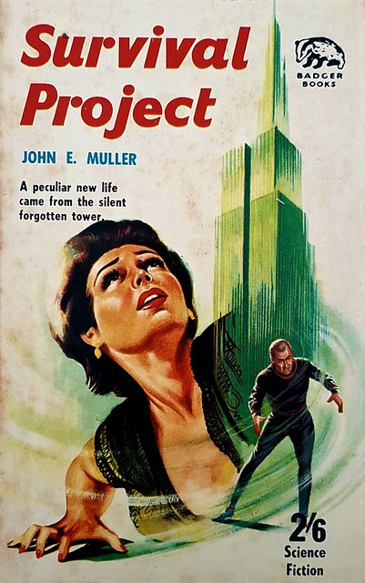 Survival Project - Badger Books - SF 117 - John E. Muller - 1966