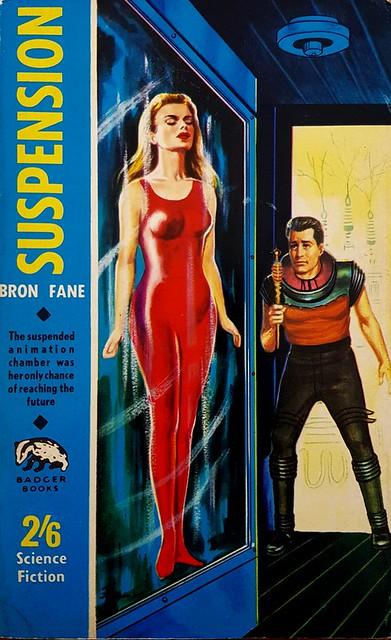 Suspension - Badger Books - SF 102 - Bron Fane - 1964