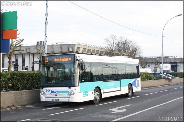 Heuliez Bus GX 127 – Athis Cars (Keolis) / STIF (Syndicat des Transports d'Île-de-France) n°664