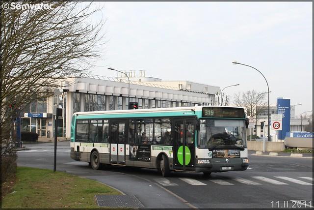 Renault Agora S – RATP (Régie Autonome des Transports Parisiens) / STIF (Syndicat des Transports d'Île-de-France) n°2535