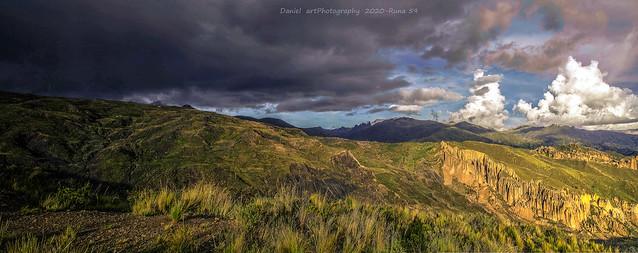 Cordillera real desde Huni