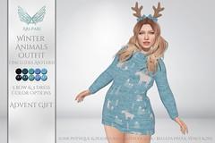 [Ari-Pari] Winter Animals Outfit