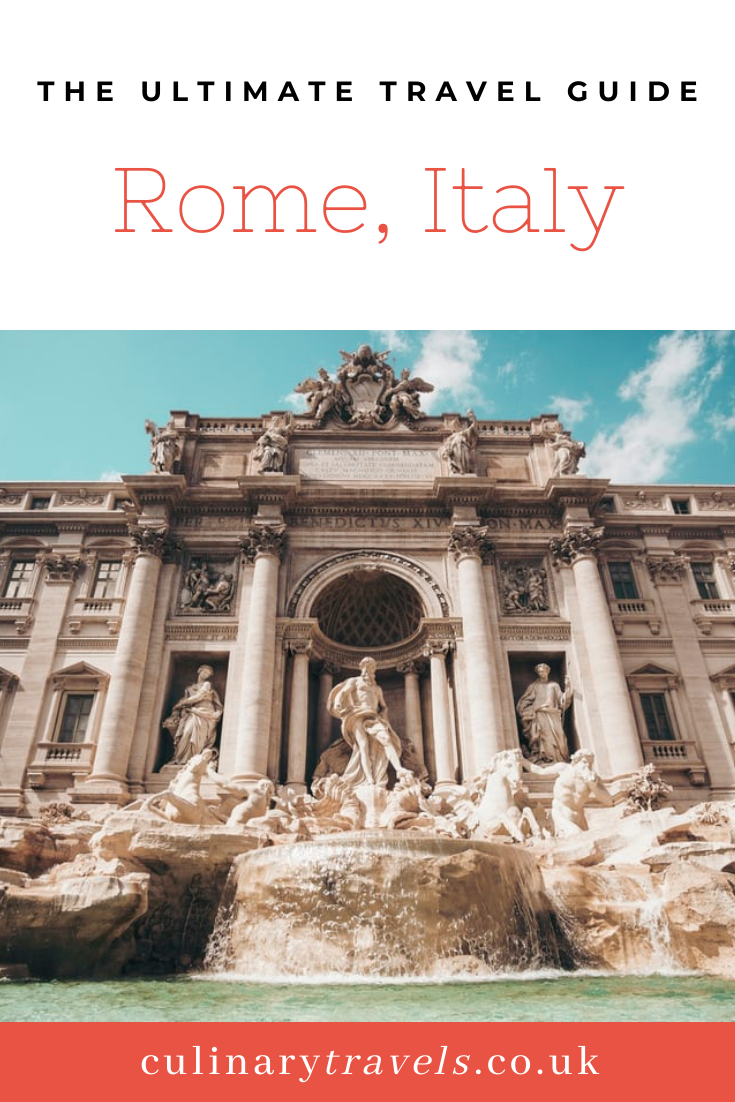 The Ultimate Guide to Rome - for locals & tourists alike!