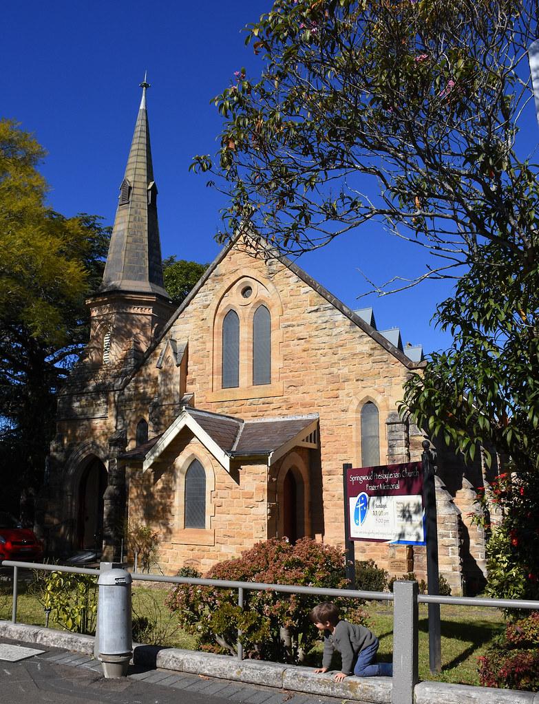 Presbyterian Church, Springwood, NSW.
