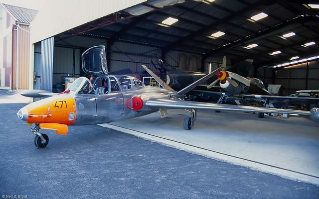 Fouga CM.170R Magister F-WFPK / 471