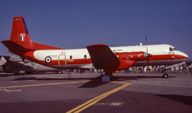XS605. Royal Air Force Hawker Siddeley Andover E.3