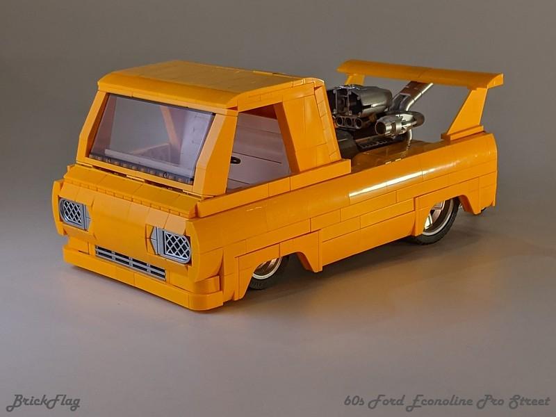 60s Ford Econoline Pro Street