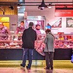 The butchers at Preston Market