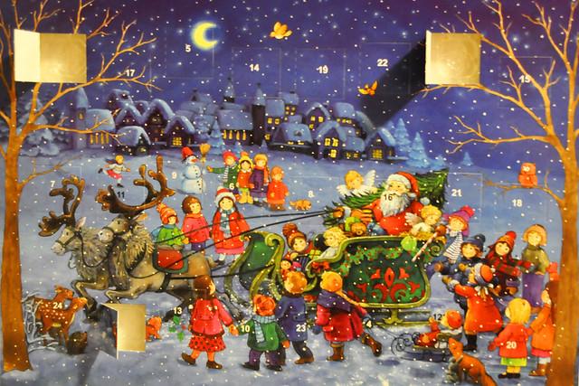 Dezember 2020 ... Adventskalender ... Die Zeit entflieht