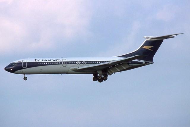G-ARVM Heathrow 2-11-1975