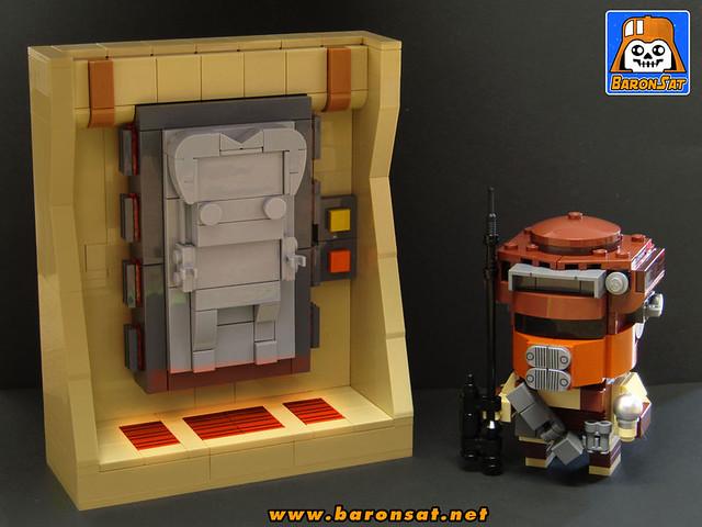 Brickheadz Solo Carbonite Boushh