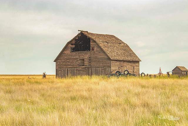 Once Was A Grand Ol' Barn