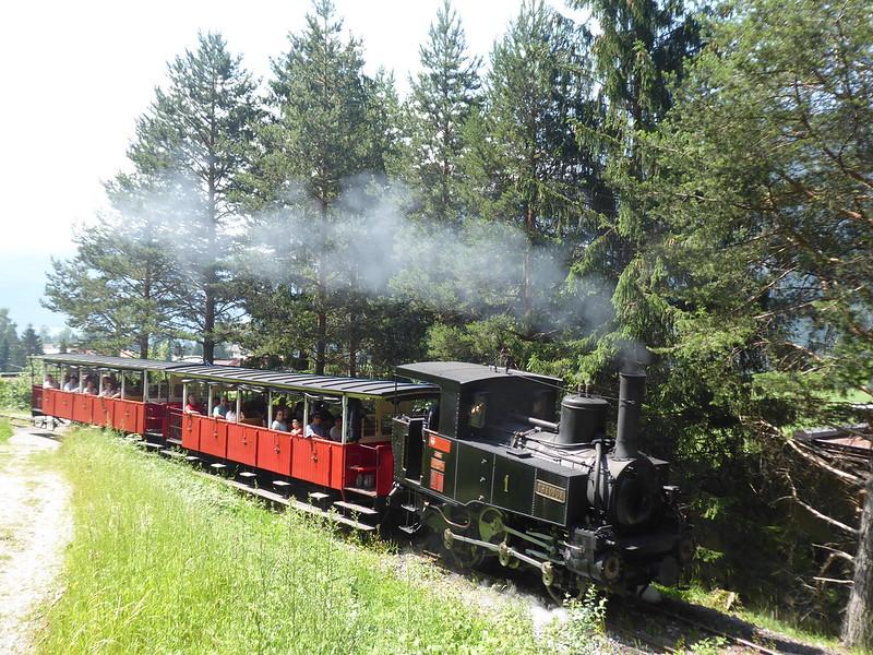 The Achensee Steam Cog Railway in Tyrol, Austria