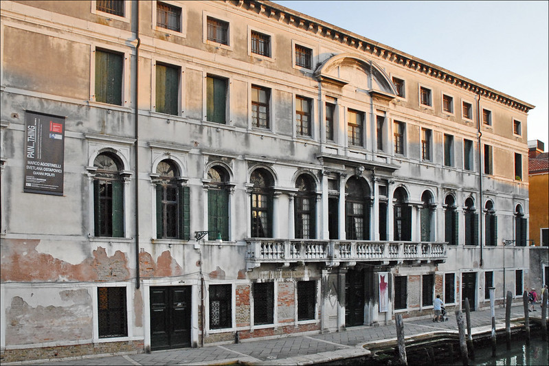 The Ca' Zenobio Palace in Venice, ITALY