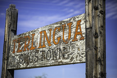 Terlingua Ghost Town Sign 3