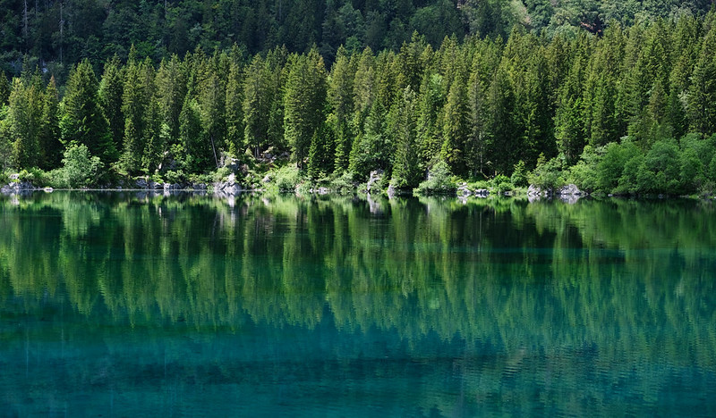 Fusine Lakes, Julian Alps, Italy