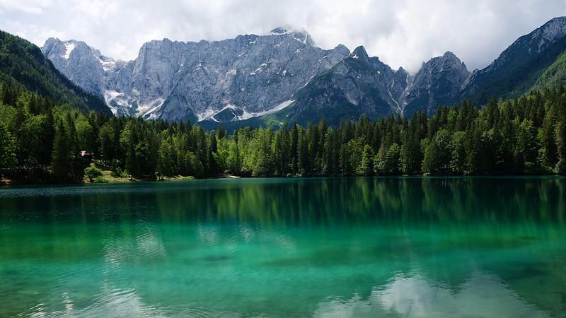 Lower Fusine Lake, Julian Alps, Italy