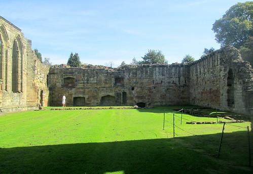 Ashby de la Zouch, Castle Interior