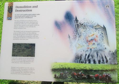 Information Board, Ashby de la Zouch Castle