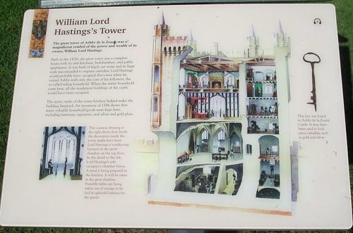 Ashby de la Zouch Castle Information Board