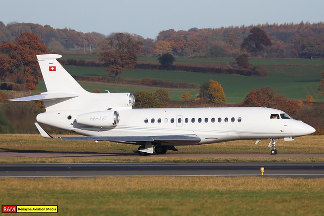 HB-JST | Dassault Falcon 7X | CAT Aviation