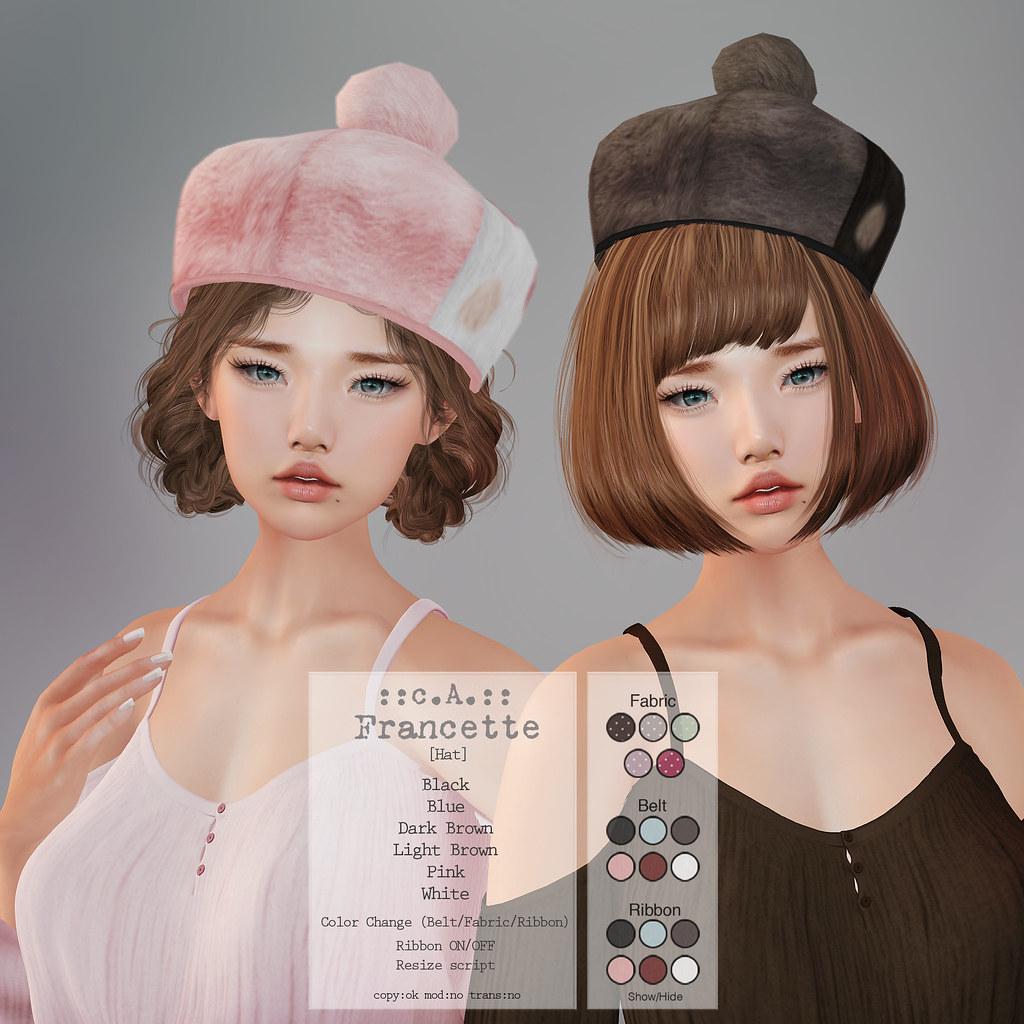 ::c.A.:: Francette [Hat]