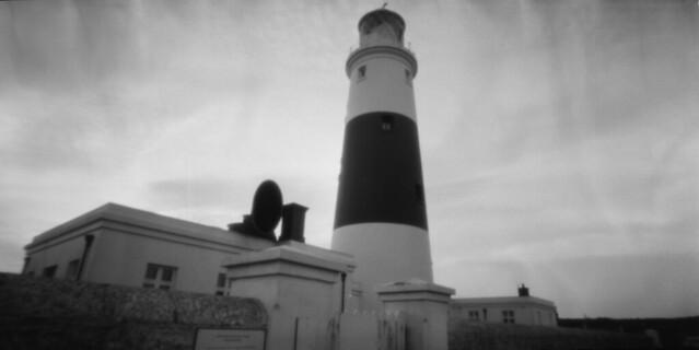 Alderney Lighthouse Pinhole