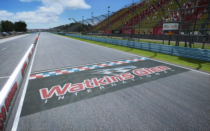 Watkins Glen for RaceRoom Racing Experience