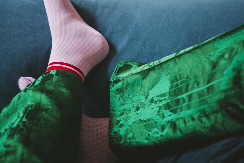 grön kostym