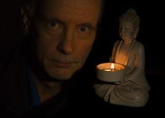 Buddha Candle motivational light